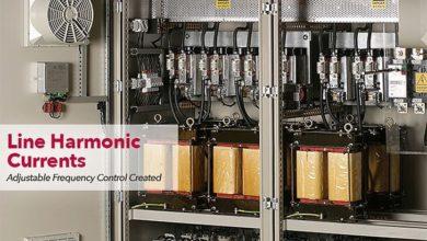 تصویر از هارمونیک های جریان های خط – کنترل فرکانس با قابلیت تنظیم