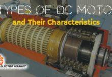 تصویر از 4 نوع از موتورهای DC و مشخصات آنها