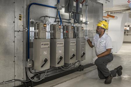 درایوهای با سرعت قابل تنظیم- یک ابزار مؤثر در مدیریت انرژی سیستمهای فن