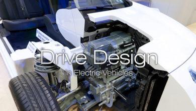 تصویر از اصول طراحی درایو در خودروهای الکتریکی