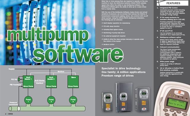 الگوریتم کنترل پمپ با اینورتر سانترنو برای سیستمهای تلمبه زنی