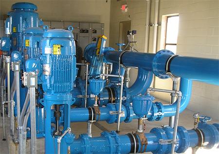 سیستمهای تلمبه زنی آب شرب 3500 gpm و حفاظت در مقابل آتش