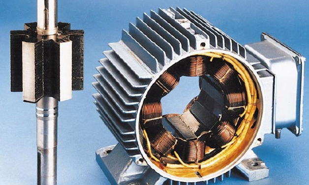 Switched reluctance motor موتور رلوکتانسی SRM