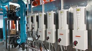 تصویر از بکارگیری درایوهای سرعت متغیر بمنظور کنترل فشار