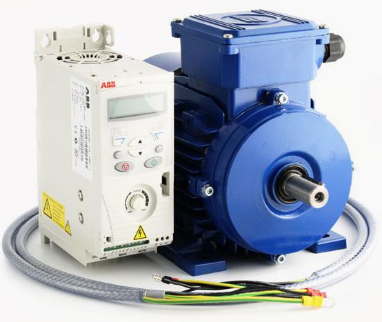درایو سرعت متغیر AC و موتور کیت IE2- 1.5 کیلووات-230 ولت – تک فاز