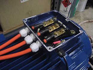 جعبه پایانه موتور