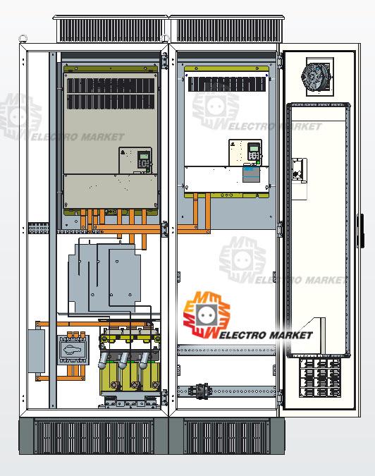 ریجنریتیو 110 کیلووات سانترنو ایتالیا طراحی شده توسط تیم مهندسی الکترومارکت