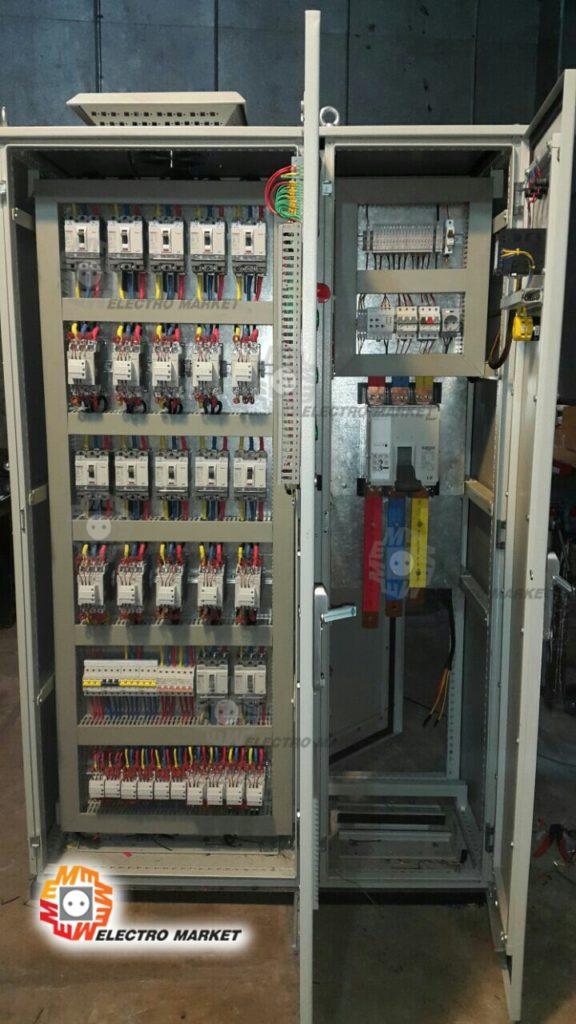 سیستم خازن و فیلتر هارمونیکی 1600 آمپر مونتاژ شده توسط گروه مهندسی الکترومارکت