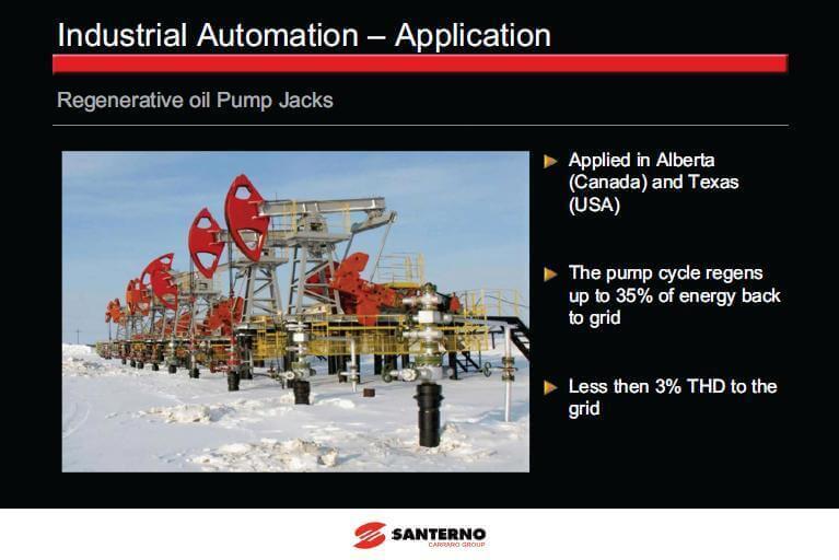 Regenerative oil Pump Jacks پروژه نصب اینورتر سانترنو ریجنریتیو روی ایستگاه پمپاژ نفت تگزاس امریکا