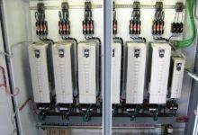 تصویر از اصول فنی نصب اینورتر یا درایو کنترل دور موتور داخل تابلو برق