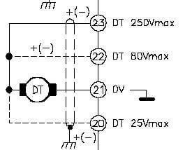 نقشه اتصال و سیم بندی تاکو ژنراتور اینورتر DC