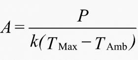 محاسبه ی ابعاد محفظه تابلو