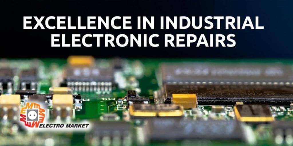 الکترومارکت بهترین گزینه در تعمیرات الکترونیک صنعتی